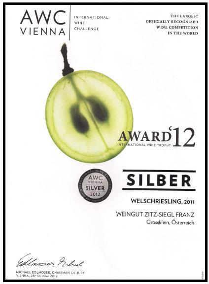 Awc-urkunde-silber-2012-welschriesling