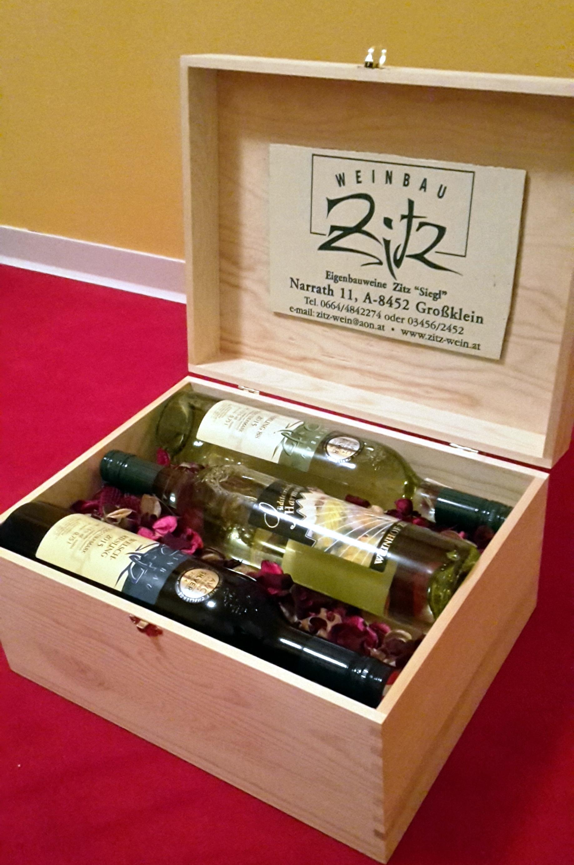 Geschenkkiste-Zitz-Wein