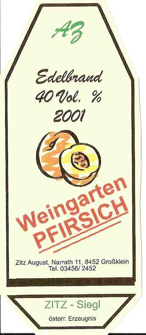 Weingartenpfirsich