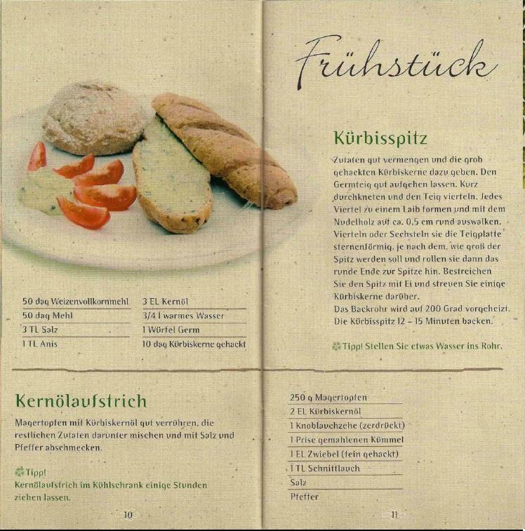 Kochen Mit Kernöl Seite10-11