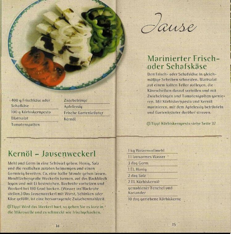 Kochen Mit Kernöl Seite14-15