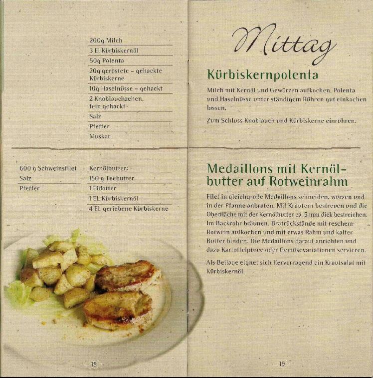 Kochen Mit Kernöl Seite18-19
