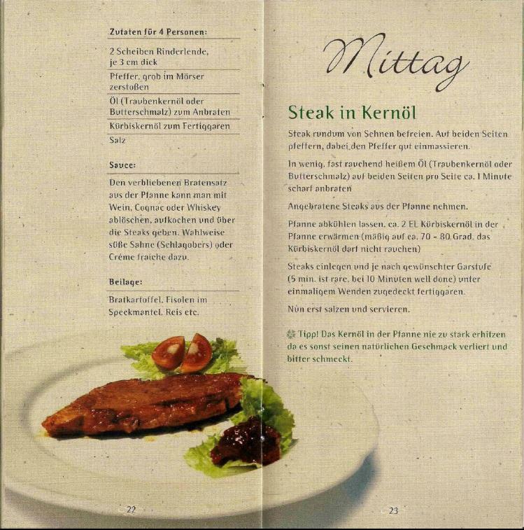 Kochen Mit Kernöl Seite22-23
